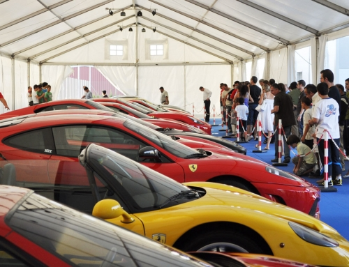 Evento Ferrari en Guadalajara
